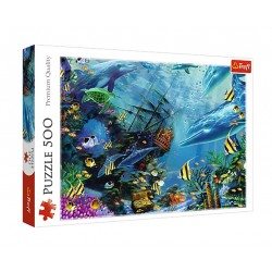 Puzzle 500 Ukryty skarb 373851